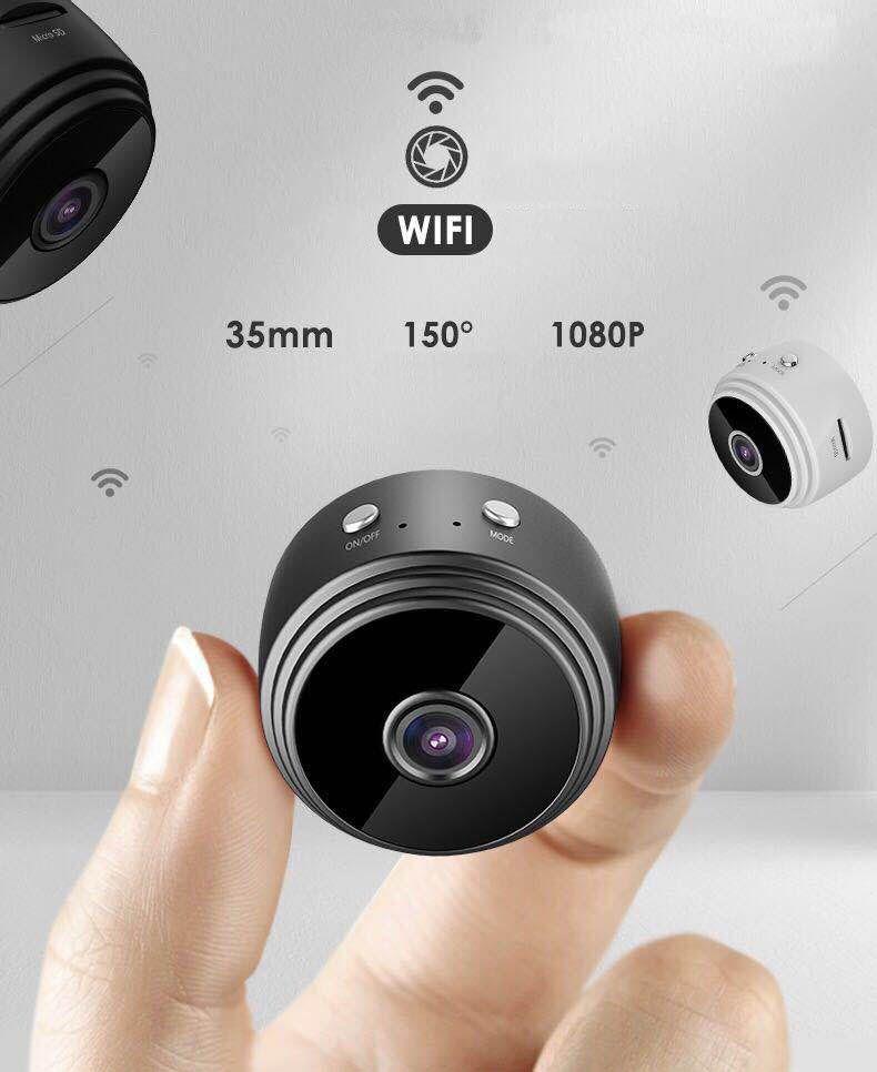 1080 كاميرا واي فاي كاميرا تتبع السيارات IR للرؤية الليلية الأمن الرئيسية في الأماكن المغلقة البسيطة الصوت مراقبة الطفل كاميرا CCTV IP