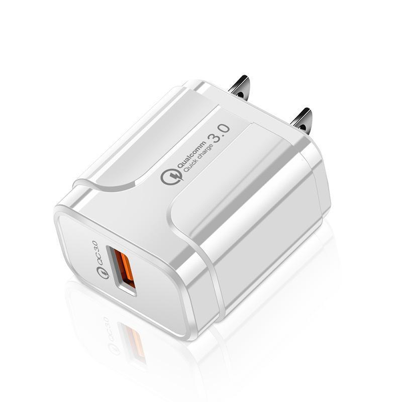 سريع شحن سريع الجدار شاحن QC3.0 USB الجدار شاحن محول الطاقة للهاتف الذكي الروبوت الهاتف pc mp3