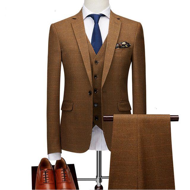 2019 Mens Slim Fit Check design Jacket Mode Dernières Tailor Made Costume Blazer classique de luxe Blazer Hommes MX191119