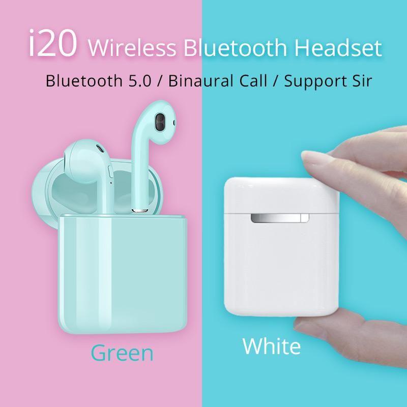 I20 TWS مصغرة لاسلكي سماعات بلوتوث 5.0 سماعات الأذن PK W1 رقاقة H1 PK I10 I11 I10 I13 i14 توس I15 I16 I30 I60 I80 I90 I100 توس