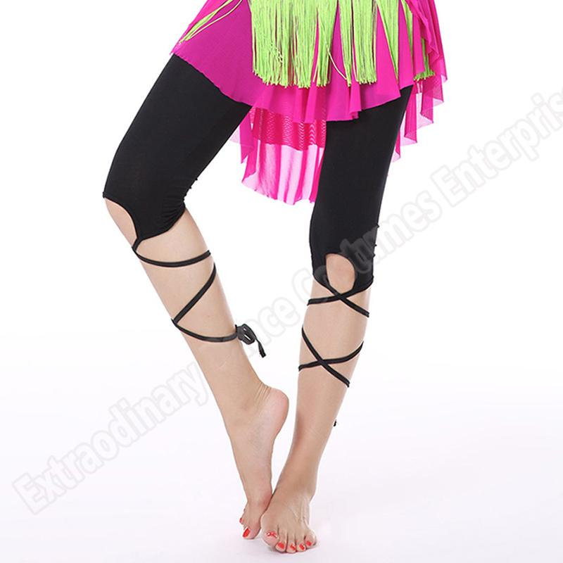 Fashion women Bellydancing Costume Pants belly dance Multicolor Bandage Pants Practice Leggings Elastic Trousers Clothes