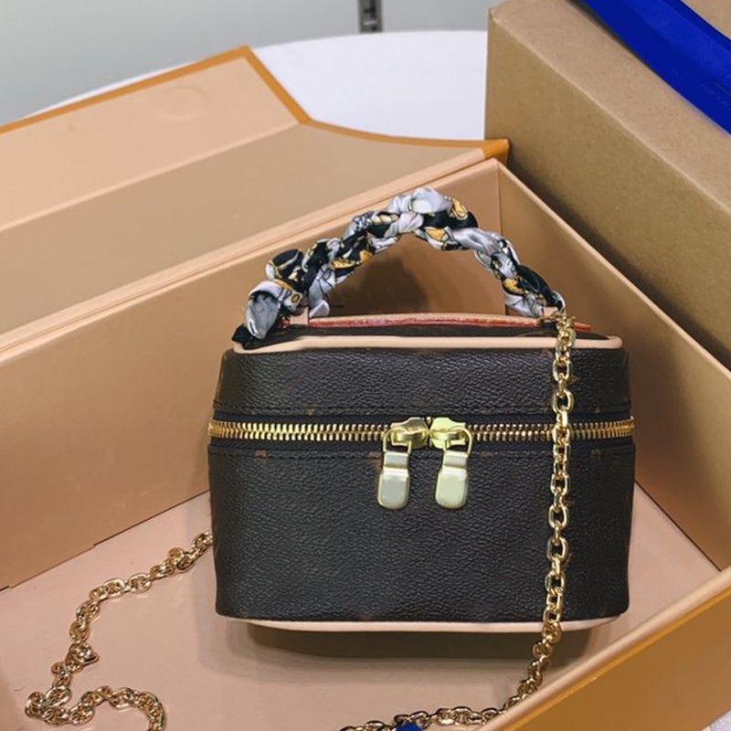 الجملة نمط جديد من مستحضرات التجميل منظم جعل حقائب يصل سلسلة حقيبة الكتف عالية الجودة زيبر سلسلة المنسوجة الجلود حقائب نسائية محفظة