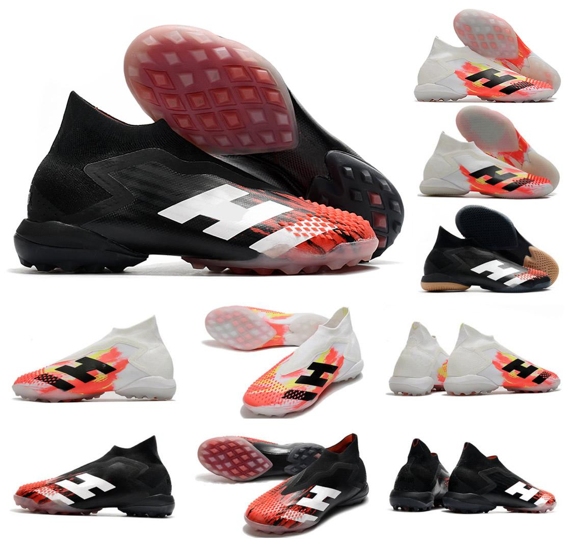 Hot Predator Mutator 20+ TF IN Uniforia Pack Indoor Turf PP Paul Pogba Mens Slip-On Soccer Football Shoes 20+x Cleats Boots Size 39-45