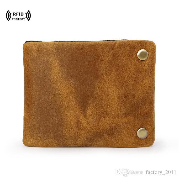 Vitage 지퍼 남성 지갑 고품질 지갑 신용 카드 홀더 남성 지갑 카드 홀더 소년 빌 지갑 짧은 지갑 LX40373을위한 달러 빌 클러치 지갑