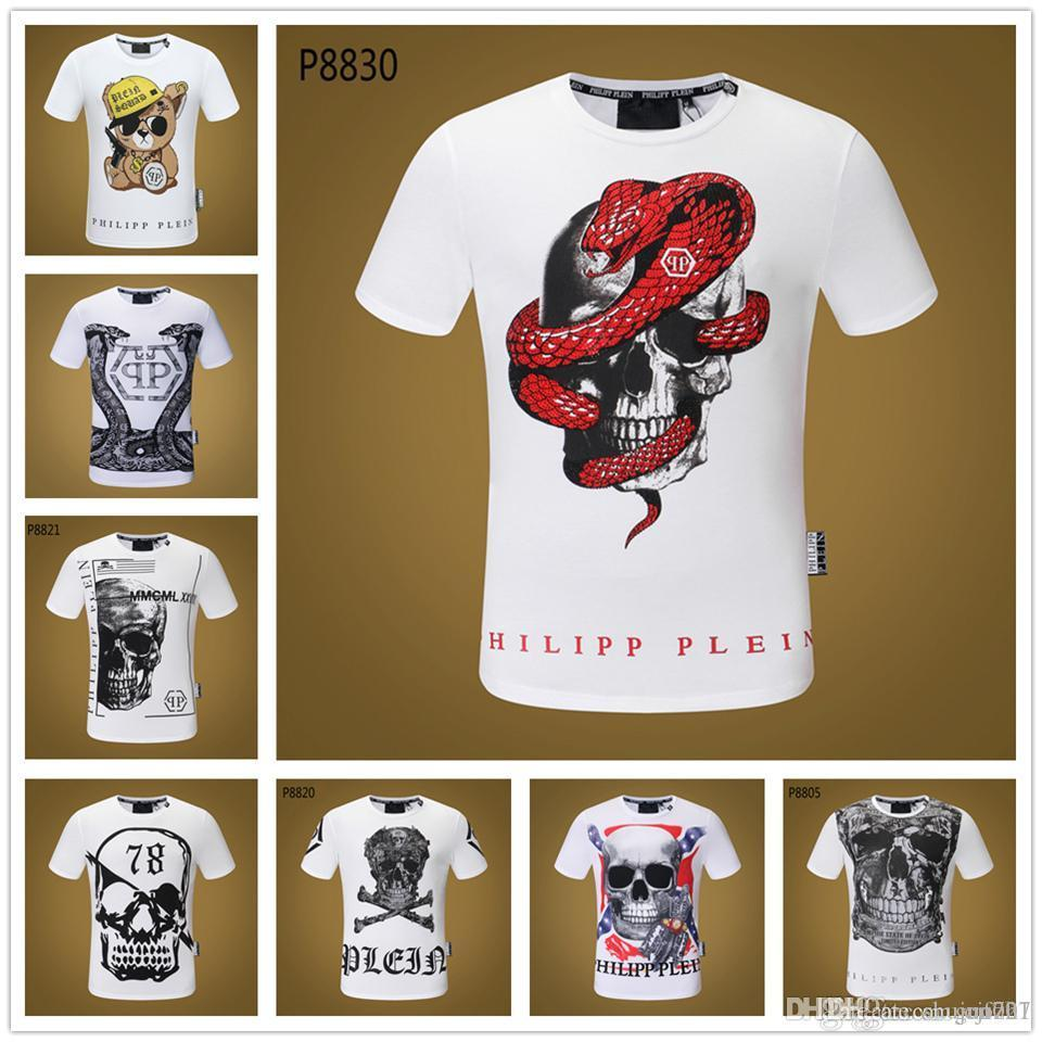 News Skull T Shirt Punk Rock Squelette Fleur Shirt Hommes Marque Clothin Hip Hop T-shirt 3d Imprimer T-shirt À Manches Longues Lycra Slim Cool Tee