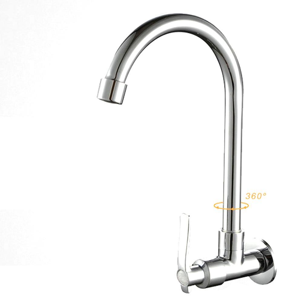 US Kitchen Sink Faucet 360 Degree Swivel Spout Basin Mixer Tap Chrome