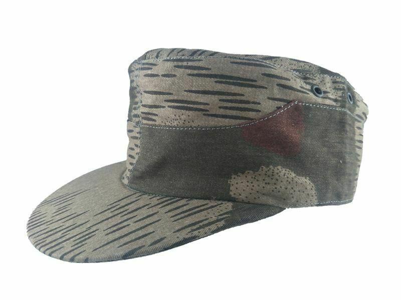 WWII WW2 exército alemão PÂNTANO CAMO CAMPO MILITAR CAP HAT CLÁSSICA militar loja REPRO Mundial