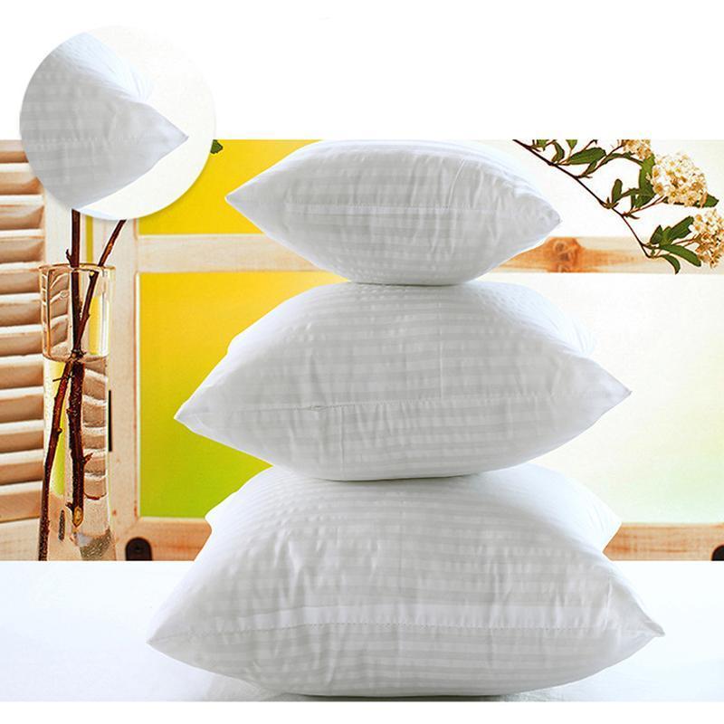 1pcs Coussin blanc Insert pour voiture Sofa vers le bas Alternative Coussin noyau interne Coussin de remplissage 40 -75cm
