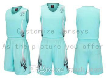 Пользовательские любое имя Любые рубашки номер Мужчины Женщины Lady Молодежные Дети Мальчики Баскетбол Трикотажные изделия Спорт, как фотографии вы предлагаете B003