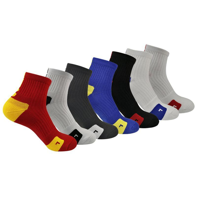 Medium Tube Sports Socks Breathable Sweat-absorbent Basketball Socks Road Bicycle Outdoor Sports Racing Cycling Sock
