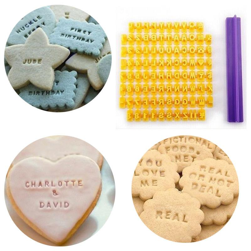 Biscuit Cutter Number Alphabet Fondant Cookie Mould Cake Cutters Decor Baking Molds Tools LBShipping C18122401