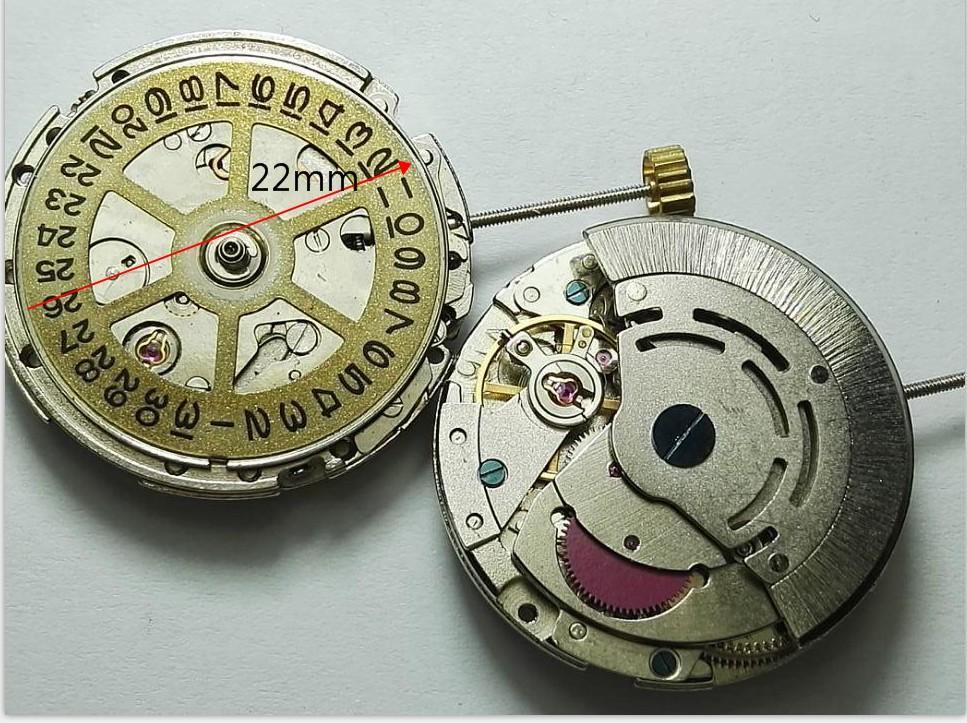 2813/8205/8215 için Otomatik Hareket Değiştirme Tarihi Chronograph Watch Aksesuarları Onarım Araçları Takımı Parçaları Parçaları
