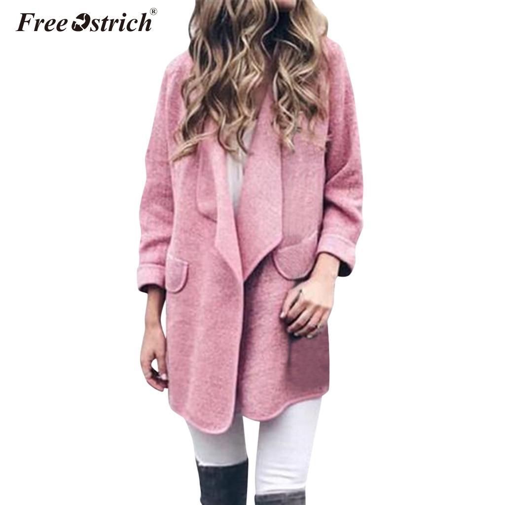 Бесплатная страуса осень повседневная женская куртка 2019 Blend Пальто Тонкий с длинным рукавом Chaqueta Mujer плиссированные твердые Feminino N30