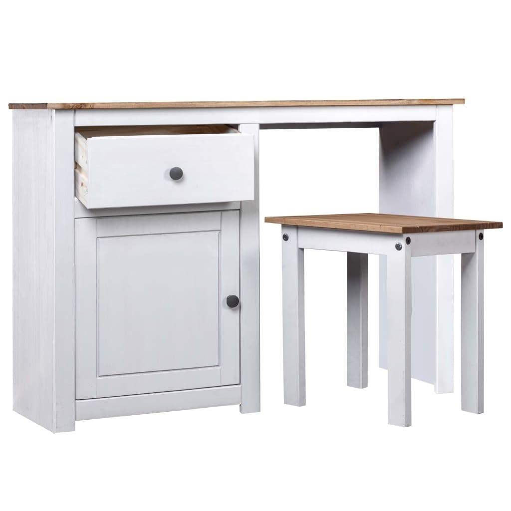 2020 White Makeup Table Set In Solid Panama Pine Range Dining Room Furniture From Globaltradingco 63 12 Dhgate Com
