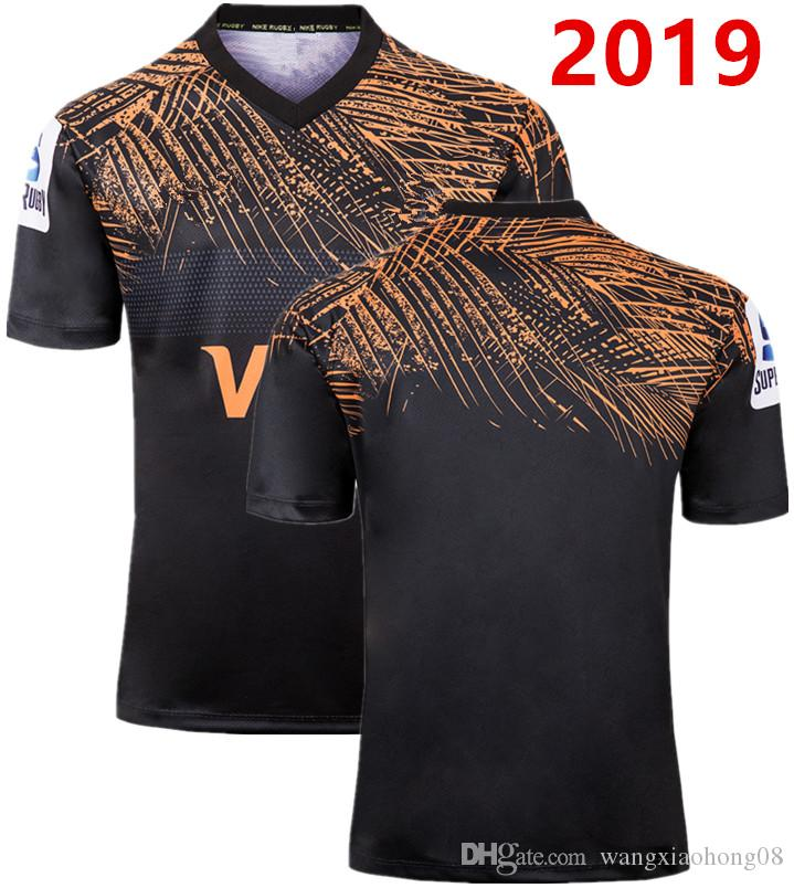 ARGENTINA RUGBY 2019 HOME JERSEY 2019 Newest Jaguares Home Away Rugby Jersey 2019 Jaguares Argentina Jersey Shirt size S-L-5XL (can print)