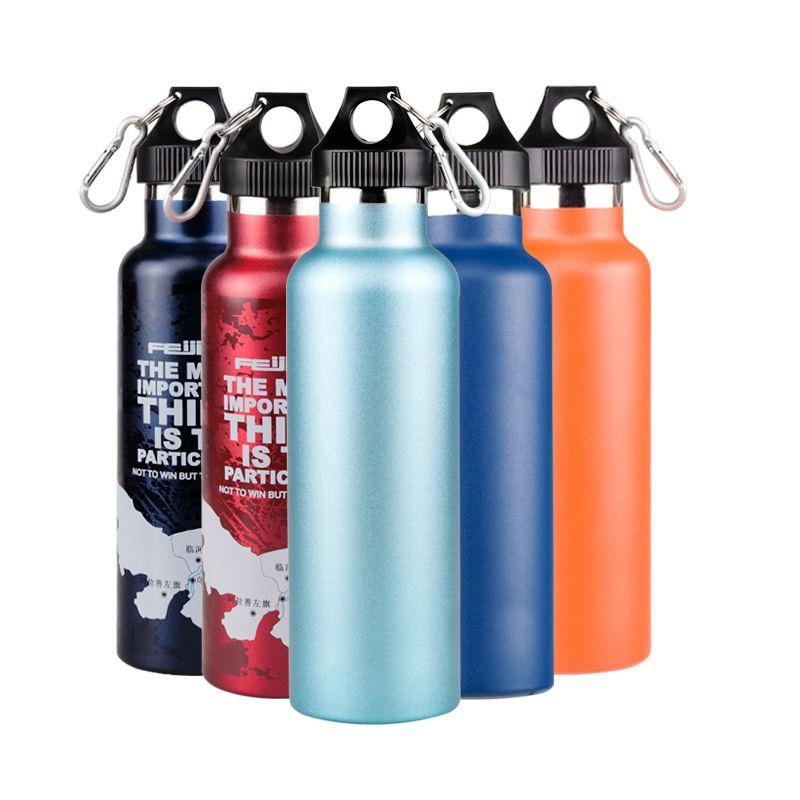 Творческий цвет может быть бутылка Пользовательского BPA бесплатно Food Grade воды из нержавеющей стали, Экологично спортивные бутылки для наружного