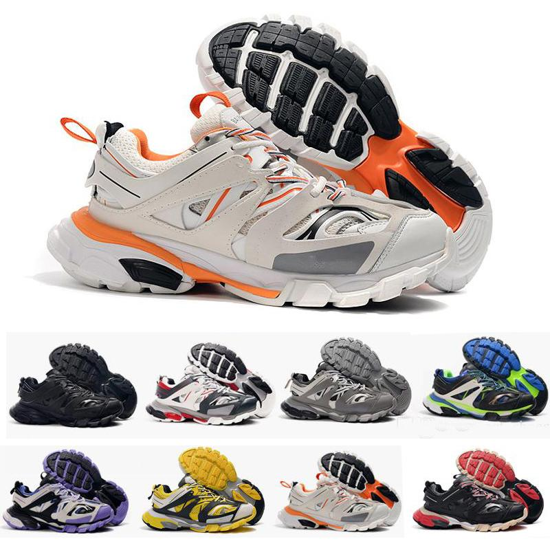 Top Quality Track Release 3.0 Tess S Paris Triple S Sneakers clear sole Mens Shoes For women Men Sneakers Trainers Tripler 36-45