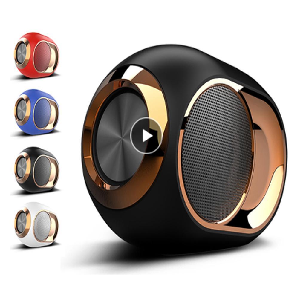 2019 NEU Bluetooth Dusche Lautsprecher Tragbare Lautsprecher Wireless-Soundbar-Stereo-Musik-Surround-Lautsprecher Super HiFi Sound-Unterstützungs-TF-Karte