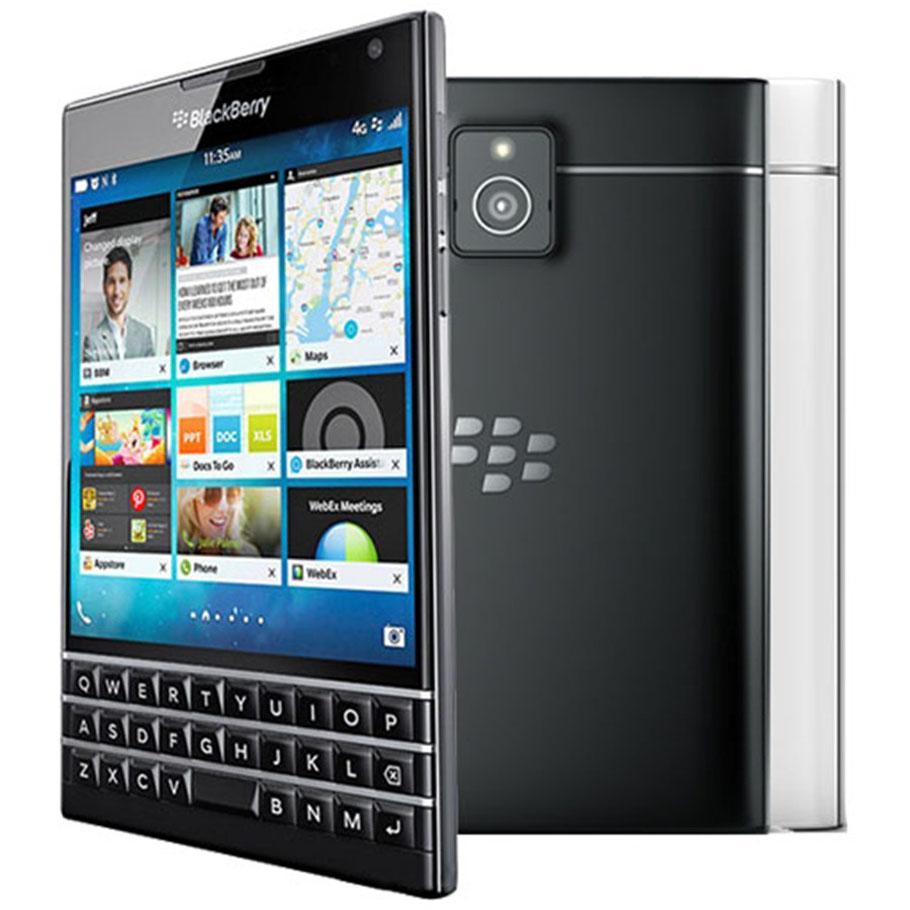 Refurbished Original Blackberry Passport Q30 4.5 inch Quad Core 2.2 GHz 3GB RAM 32GB ROM 13MP QWERTY Keyboard 4G LTE Smart Phone DHL 5pcs