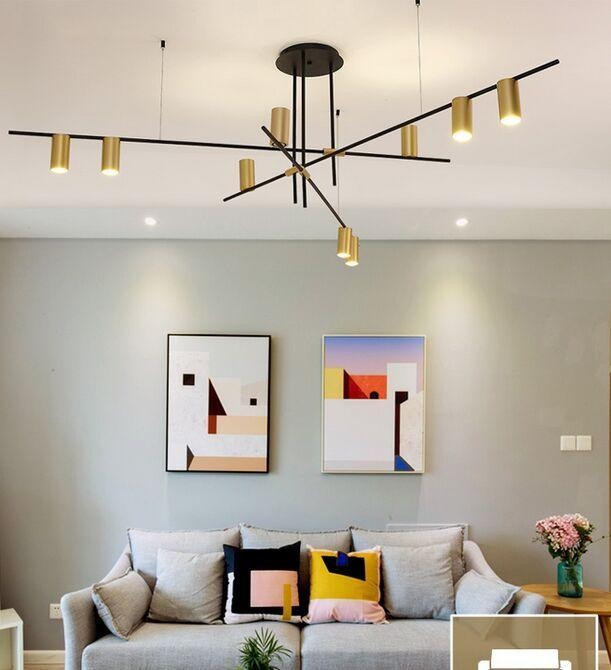Creative Design Led Chandeliers Lighting Personality Hanging Branch Lamp For Living Room Cafe Bar Bar Studio Restaurant Myy