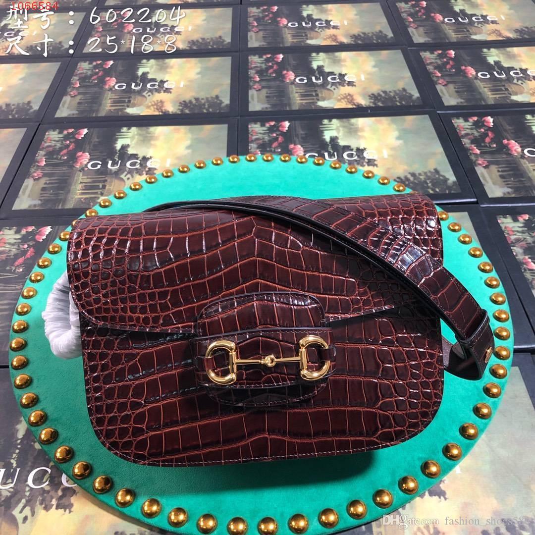 Caldo di vendita delle donne del progettista delle borse del sacchetto postino obliquo, di qualità in pelle di coccodrillo delle signore di alta borsa tracolla diagonale