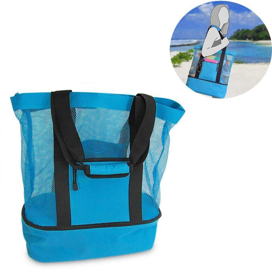 야외 피크닉 가방 4 색 해변 캠핑 다기능 대용량 점심 가방 휴대용 야외 여행 가방 OOA7472-2