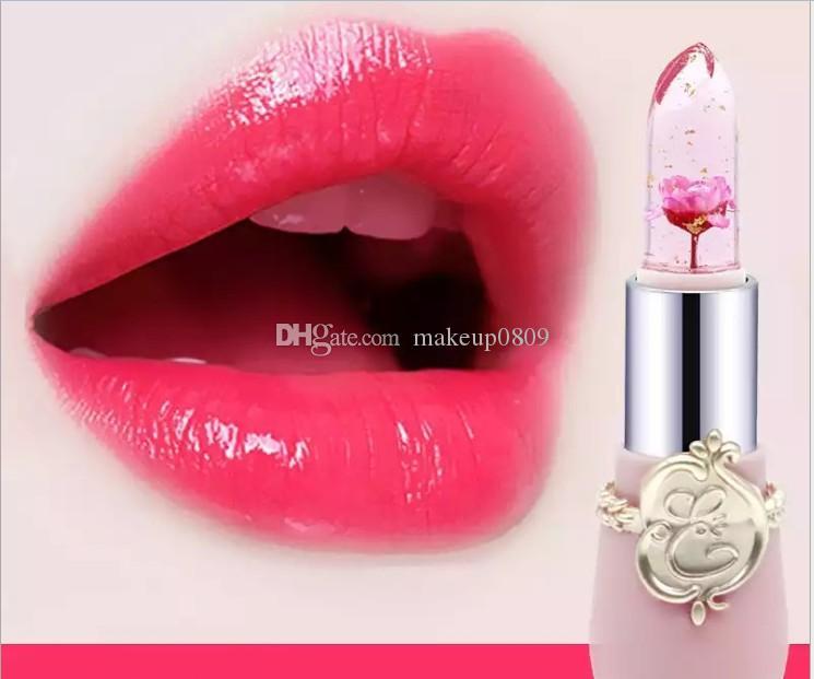 NEW VERFASSUNG COSMETICS Speziell für frische Blumen, trockene Blumen, transparente Gelee, Lippenstift, Goldfolie, Lippenstift und Lippenstift