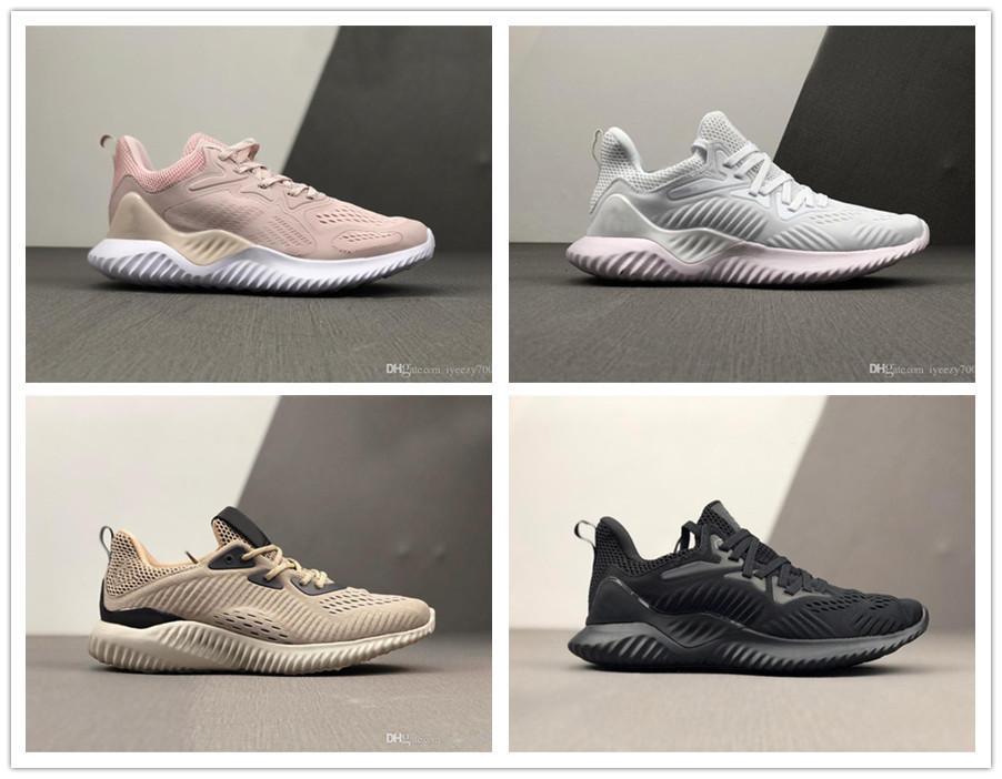 2020 nueva venta AlphaBounce Más allá de alta mármoles tiburón Fuera de los zapatos corrientes Negro Gris Blanco Caqui Alfa rebote zapatos que activan Eur 40-45