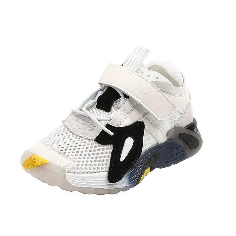 Été 2020 enfants chaussures enfants formateurs Chaussures Enfants Garçons enfants chaussures filles chaussures garçons filles formateurs B1626 détail