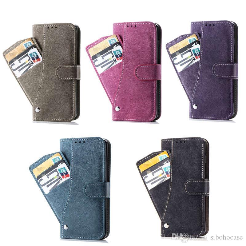 Роскошный дизайнерский чехол для телефона Samsung Galaxy Note 9 S9 S10 plus Grind Arenaceous кошелек Кожаный чехол для телефона Протектор Крышка телефона Откидная крышка