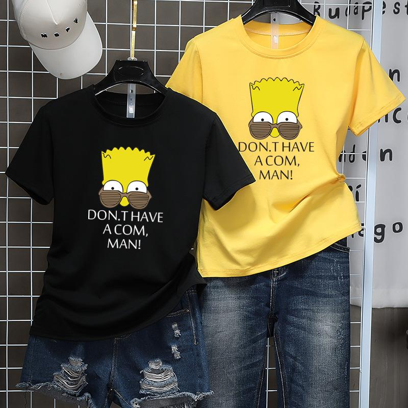 T-shirts Beautiful Short Sleeve Woman's Coat Lovers Cartoon T ClassDU2Diwalkers05