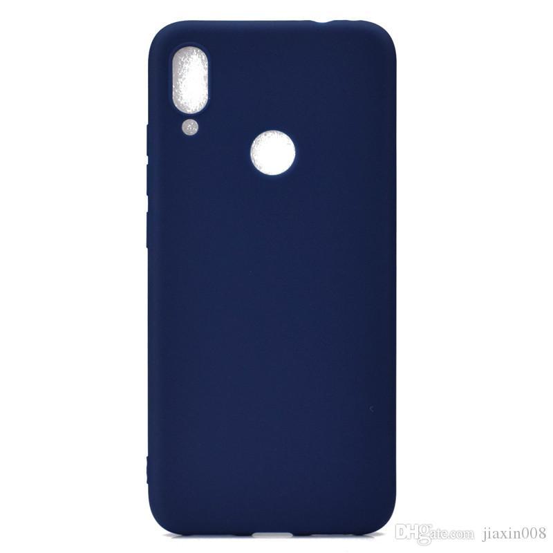 Şeker Renk Kapak Redmi Not 7 Vaka Yumuşak TPU Ultrathin Tasarımcı Mobie Xiaomi Redmi Not 7 Için Telefon Kılıfları
