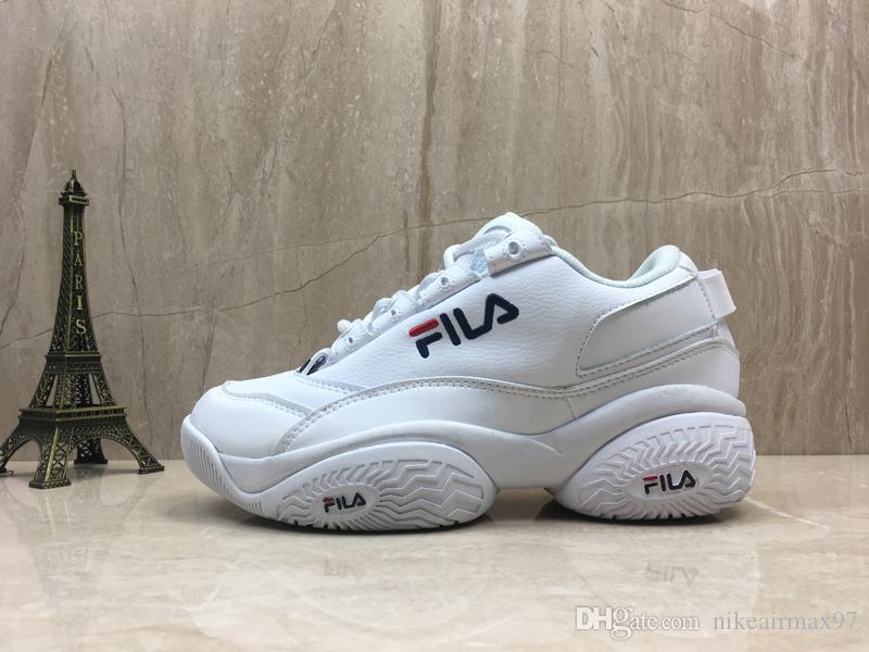 Großhandel Designer Shoes FILA Men's Women Damen Concours Low 96 Wildleder Disruptors Sneaker Weibliche Turnschuhe Frauen Höhe Zunehmende Schuhe