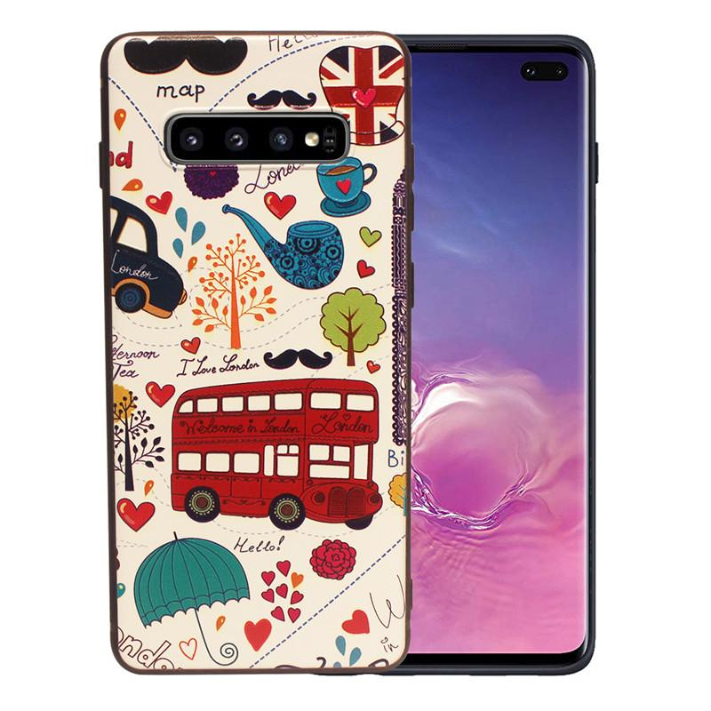 3D Animals Soft Silicone Rubber Cover Case For Samsung Galaxy S10 S10 Plus S10+ Cute Pattern