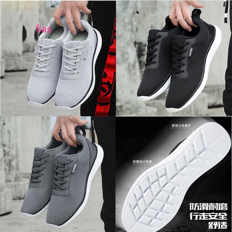 Moda WMNS zapatos para correr Negro Gris Blanco Run entrenadores deportivos zapatillas de deporte de marca respirable del verano casera hecha en el tamaño de China 39-44