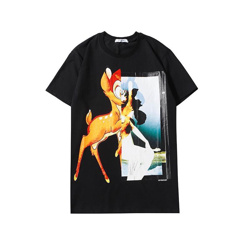 Mode-Männer Shirts Design Luxus T-Shirt Männer Frauen lässige Top Tees Sommer-Kurzschluss-Hülsen-Hip Hop-Männer Street Kleidung 2020315K