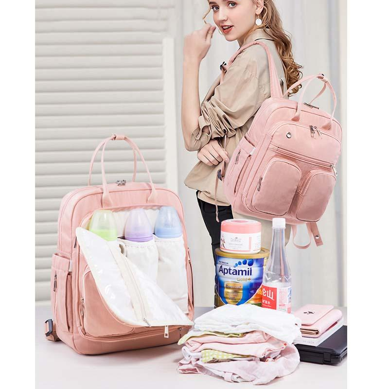 Anti-theft portable Mummy bag diaper bag multi-function storage maternity waterproof treasure mother out of the backpack