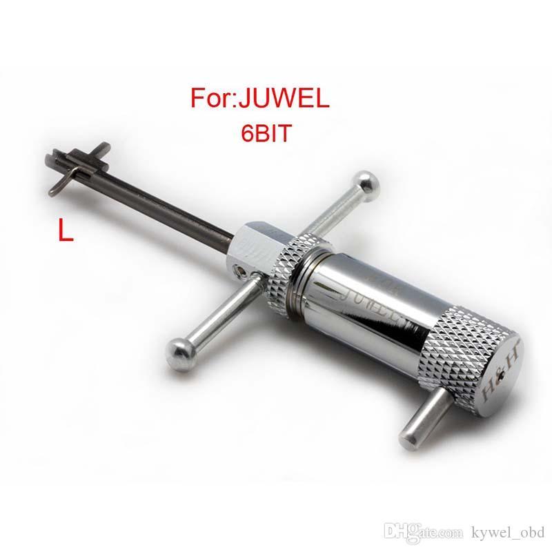 Nouvelle Conception Pick-outil (côté gauche) pour JUWEL 6bit, outil de sélection serrure, outils de serrurier