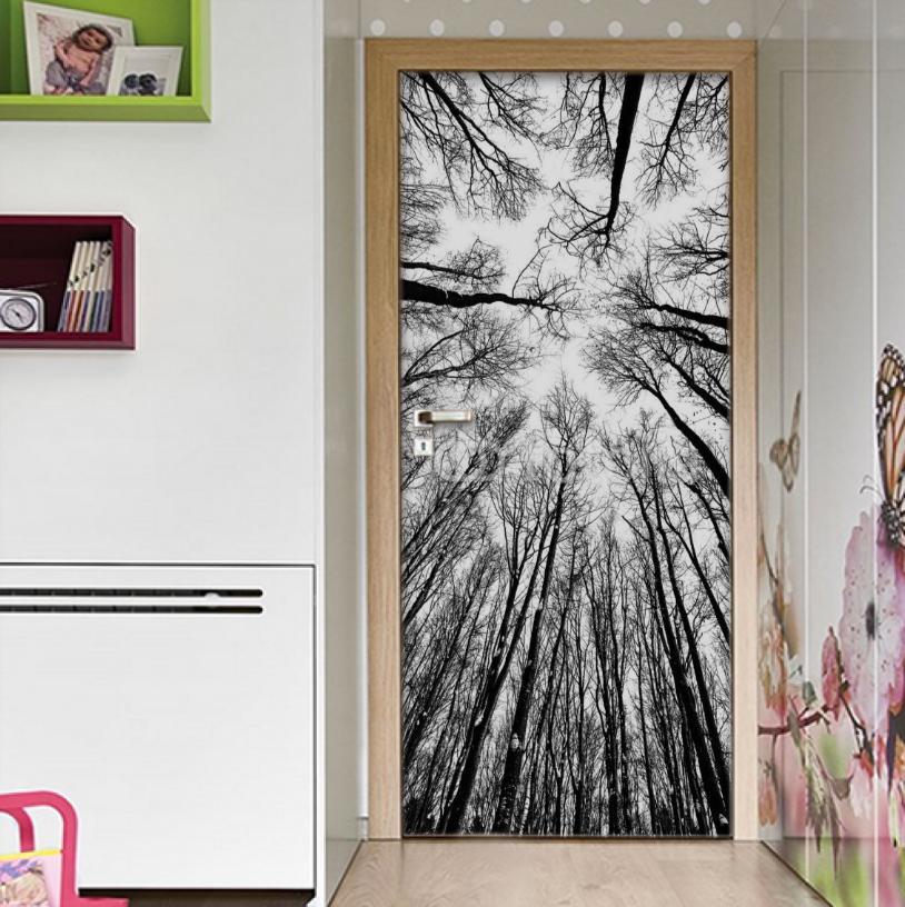 Autoadhesivo puerta Wrap pared Pegatina de imagen pegatina VINYL baldosa