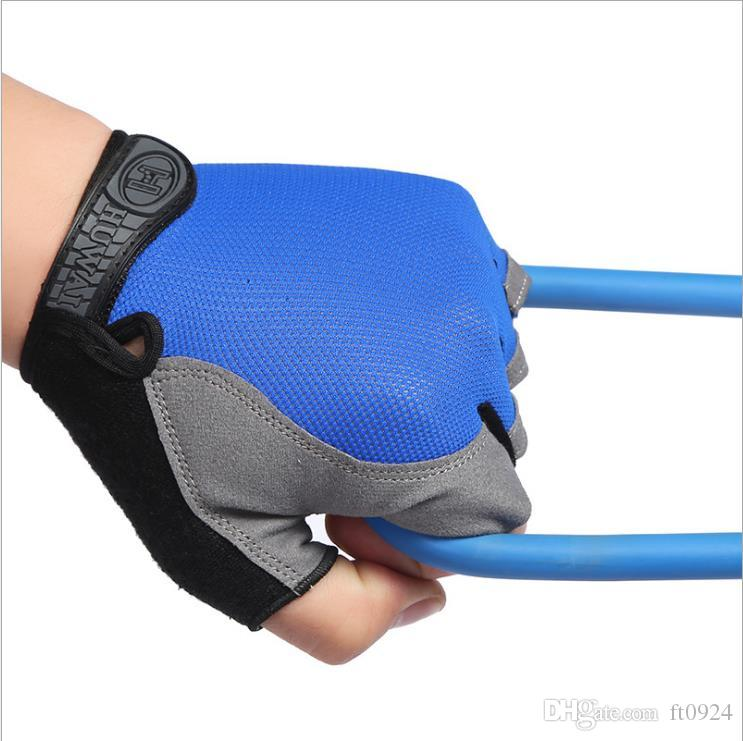New fashionable half-finger fitness gloves for mountain climbing, fitness, ultra-thin sunscreen, skid-proof outdoor running, breathing and s
