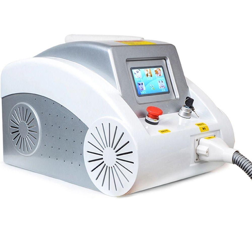 Q-switch equipo de la belleza última máquina de eliminación de tatuajes con láser