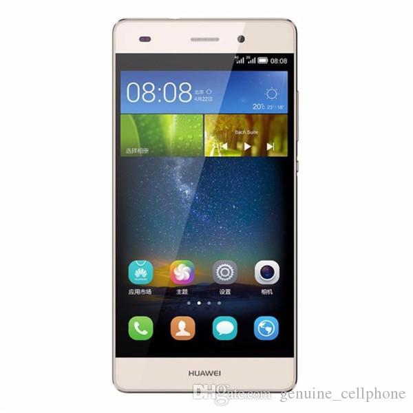 Original Huawei P8 Lite 4G LTE-Handy Kirin 620 Octa-Core 2 GB RAM 16 GB ROM Android 5.0 Zoll HD 13.0MP Kamera OTG intelligentes Handy