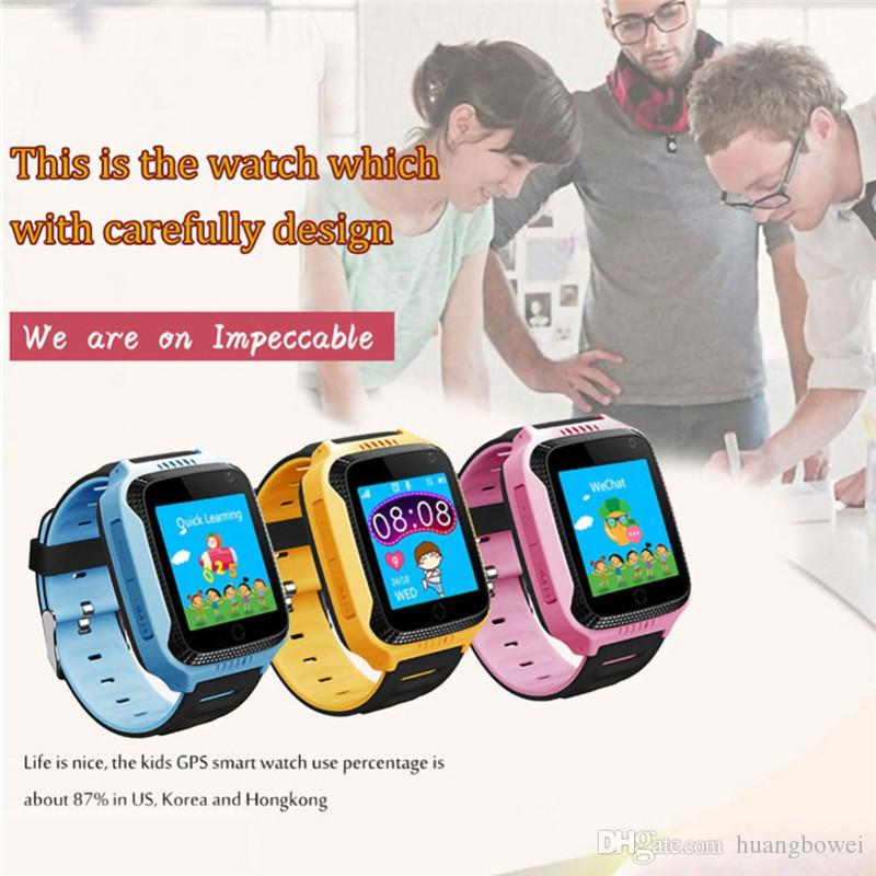 Q529 children smart watch touch screen camera GPS real-time positioning health dating phone smart watch student call watch