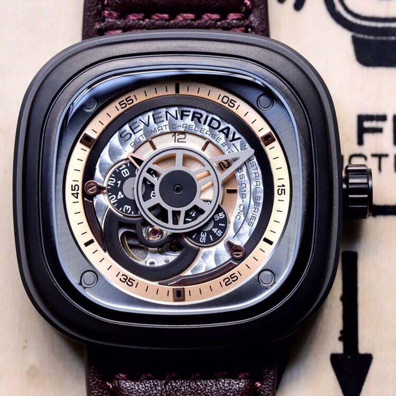 New Hot Men mulheres relógio mecânico relógio de aço Movimento automático relógio esportivo auto vento Relógios de negócio com caixa 145