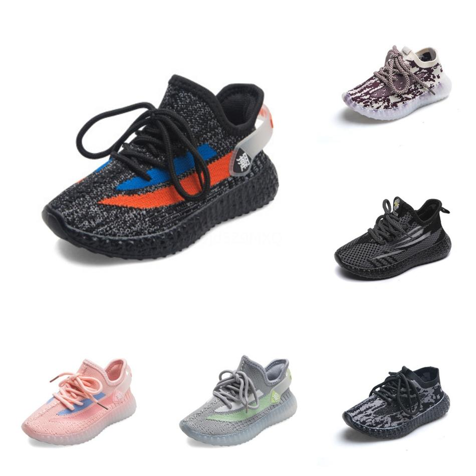 2020 Kanye West Terre Chaussures de course pour enfants de haute qualité version correcte de grande taille 36-48 Designer Shoes à vendre avec Box # 864