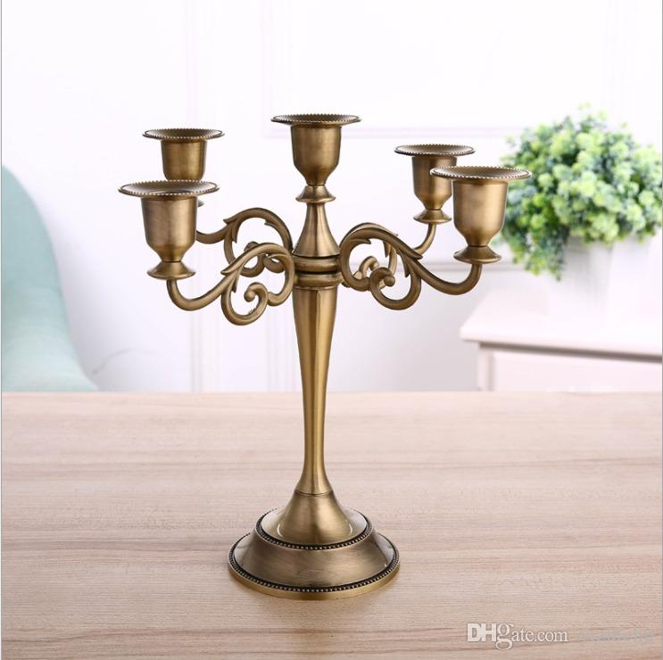 Cheap European Classic Beautiful Metal Candlestick 3 Head Stands Candlelight Dinner Wedding Decoration Candle Holder Candle Holder 5 Head Stands From Yizhichu 10 85 Dhgate Com