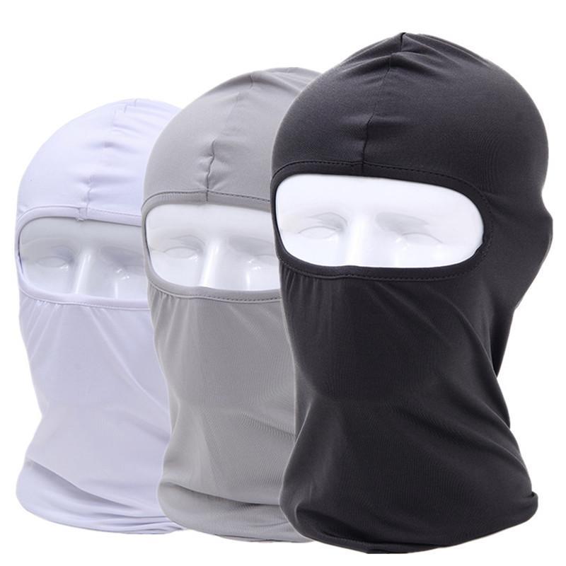 Mode Motorrad Gesichtsmaske Kopfbedeckungen Männer Frauen Anti Staub Winddicht Wärmer Maskiert Motorrad Radfahren Schleier Outdoor Sport Motorrad Maske 2020