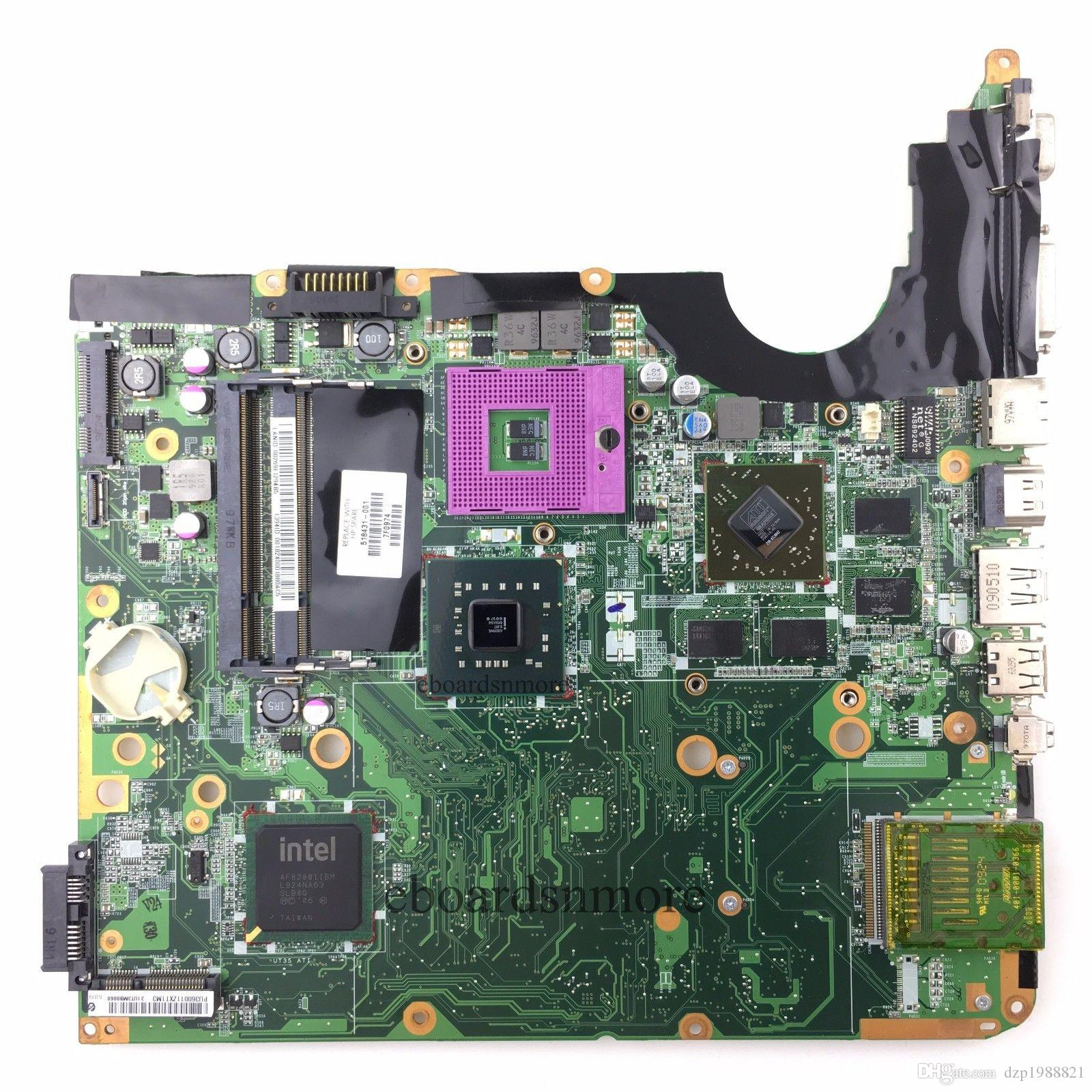 518431-001 board for HP pavilion DV6 laptop motherboard DDR2 with intel chipset with ATI Mobility Radeon HD4650 graphics 1GB memory
