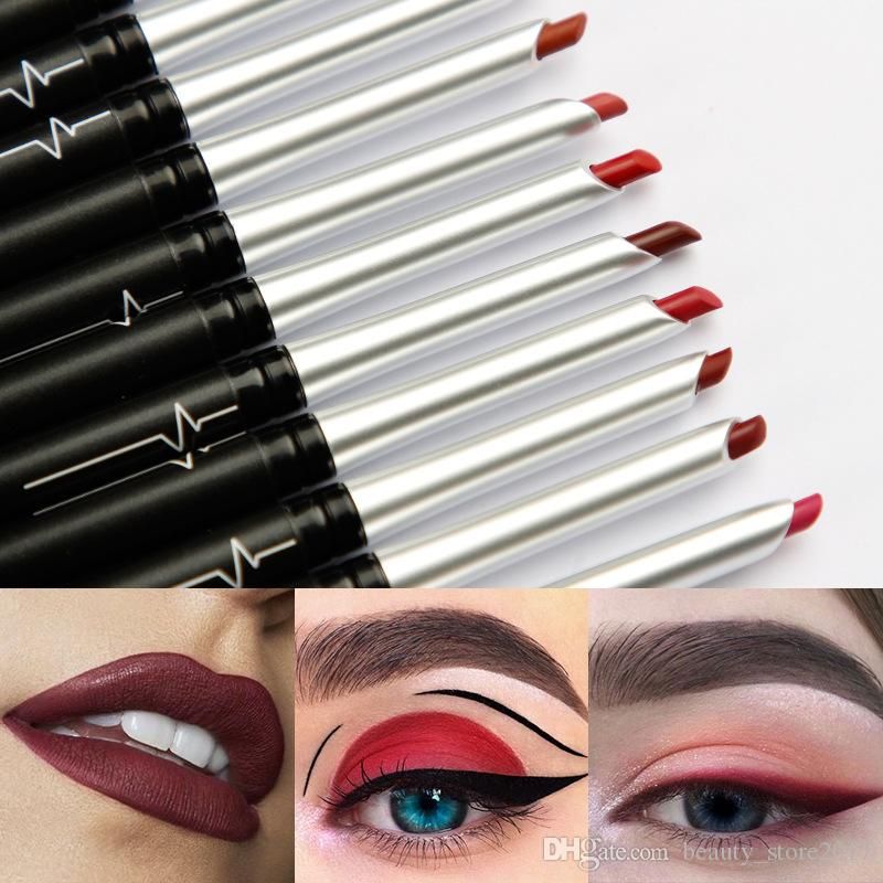 Pudaier 17 Color Sexy Mate Nude Lip Liner Pencil Impermeable Hidratante Barras de labios Labios de larga duración Llipliner Maquillaje pluma