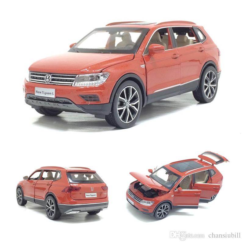 1//32 VW Volkswagen Tiguan L Diecast Metal SUV CAR MODEL Toys Kids gifts